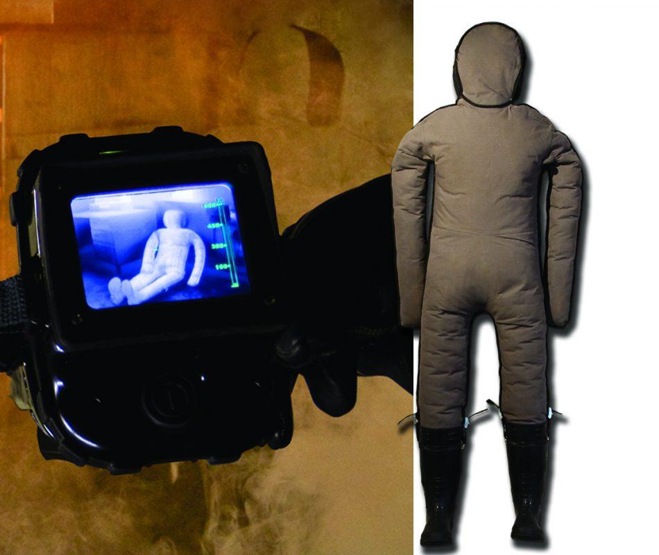 Thermal imaging camera operable