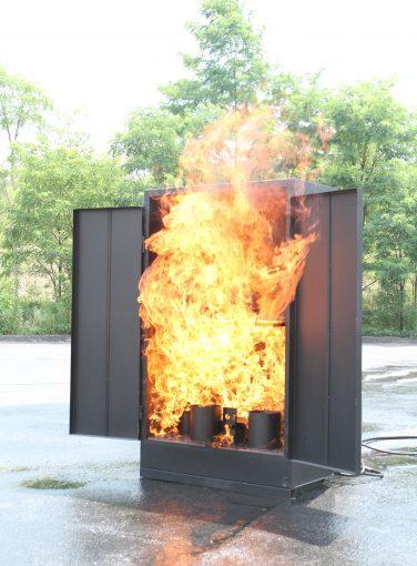 Storage Cabinet Fire Prop