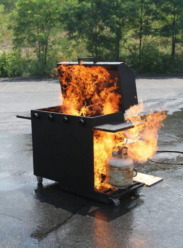 BBQ Fire Prop