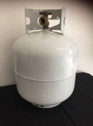 Leaking LPG Cylinder