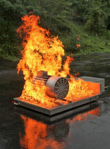 Electric Motor Fire Prop